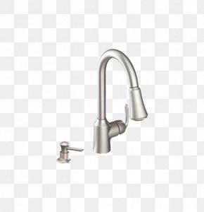 Daily Shower - Tap Moen Kitchen Sink Soap Dispenser PNG