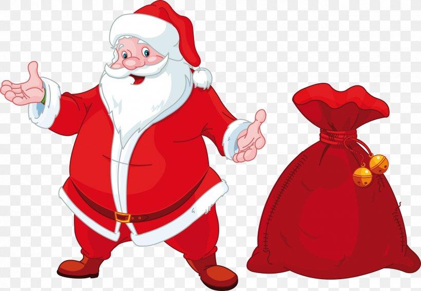 Santa Claus Mrs. Claus Christmas Clip Art, PNG, 2500x1726px, Santa Claus, Christmas, Christmas Decoration, Christmas Elf, Christmas Ornament Download Free