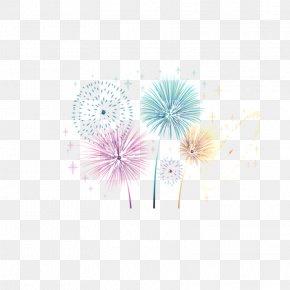 Multicolored Fireworks - Sumidagawa Fireworks Festival PNG