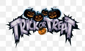 Halloween Trick Or Treat Not - Typeface PNG