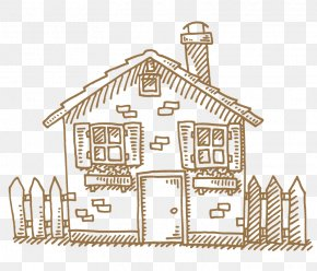House - Drawing House Royalty-free PNG