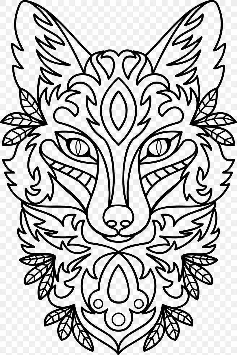 Drawing Ornament Line Art Clip Art, PNG, 1492x2234px, Drawing, Art, Black, Black And White, Carnivoran Download Free