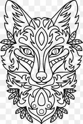 Line Art Background - Drawing Ornament Line Art Clip Art PNG