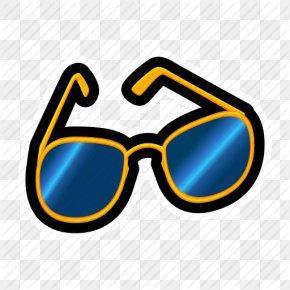 Cartoon Glasses - Goggles Sunglasses PNG