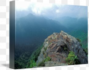 Park - Charlies Bunion Mount Scenery Appalachia National Park Gallery Wrap PNG