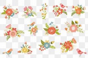 Vector Watercolor Flowers - Watercolour Flowers Floral Design Watercolor Painting Illustration PNG
