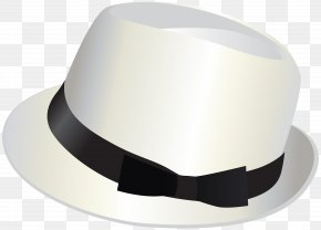 White Hat Transparent Clip Art Image - Top Hat Akubra Baseball Cap Clothing PNG
