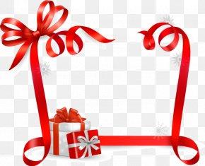 Festival Celebration Avatar Outline - Christmas Gift Ribbon PNG