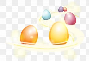Vector Eggs - Easter Bunny Colorful Eggs Easter Egg PNG