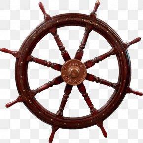 Nautical Elements - Ship's Wheel Wood Maritime Transport PNG