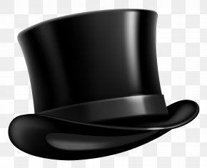 Black Top Hat Clipart Picture - Top Hat Cap Clip Art PNG