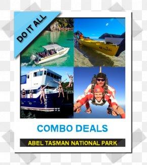 COMBO OFFER - Abel Tasman Canyons Abel Tasman National Park Leisure Tourism Vacation PNG