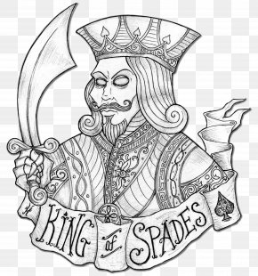 King Of Spades - Clip Art King Of Spades King Of Spades Drawing PNG