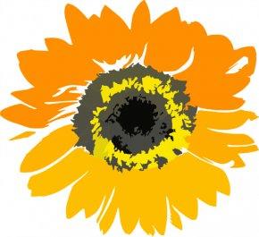 Sunflower Border Clip Art - Common Sunflower Sunflower Educare Center Clip Art PNG