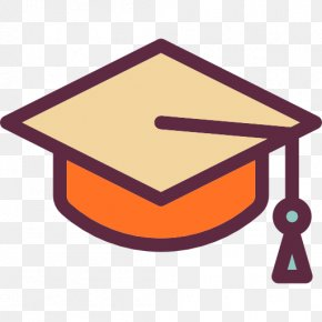 A Bachelor Cap - Square Academic Cap Graduation Ceremony Icon PNG