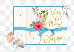 Design - Floral Design Paper Greeting & Note Cards Font PNG
