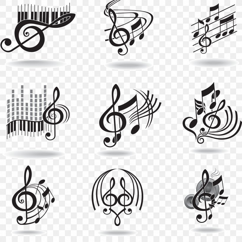 Musical Note Staff, PNG, 1920x1920px, Watercolor, Cartoon, Flower, Frame, Heart Download Free
