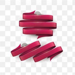 Vector Purple Ribbon - Red Ribbon Awareness Ribbon PNG