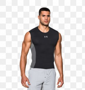 T-shirt - T-shirt Sleeveless Shirt Under Armour Top PNG