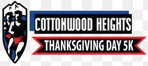 Thanksgiving Day - Thanksgiving Day 5K Logo Banner Brand Flag PNG