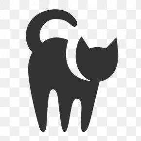 Black Cat - Cat T-shirt PNG