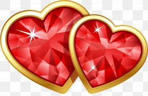 Ruby - Valentine's Day February 14 Love Friendship Heart PNG