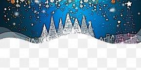Snow Winter - Blue Winter Snow PNG