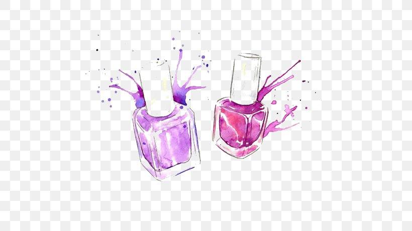 Nail Polish Cosmetics Drawing Illustration, PNG, 564x460px, Nail Polish, Beauty, Color, Cosmetics, Drawing Download Free