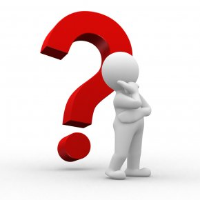 Thinking Man - Question Mark 3D Computer Graphics Animation Clip Art PNG