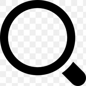 Magnifying Glass Material - Search Box Magnifying Glass Symbol PNG