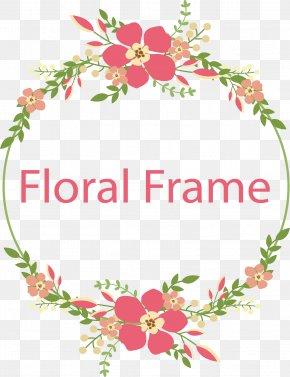 Flower Frame Vector - Flower Download PNG