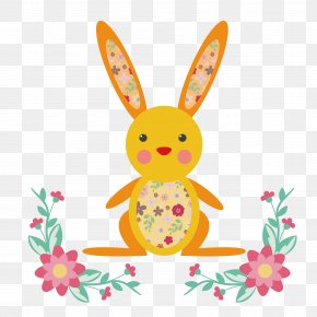 Easter Bunny - Easter Bunny Rabbit Easter Egg PNG