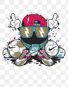 Nike Cartoon Characters - T-Shirt Graphics Nike Foot Locker Air Jordan PNG