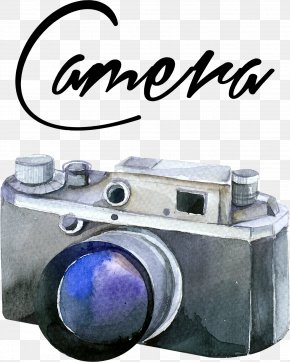 Camera - Camera Lens Photography Photographer PNG