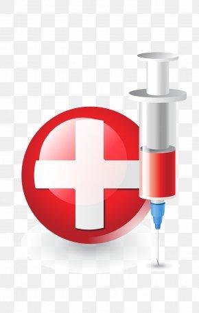 Vector Cartoon Medical Instrument Needle - Medical Equipment PNG