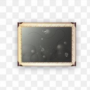 Creative Black Frame - Picture Frame Designer PNG