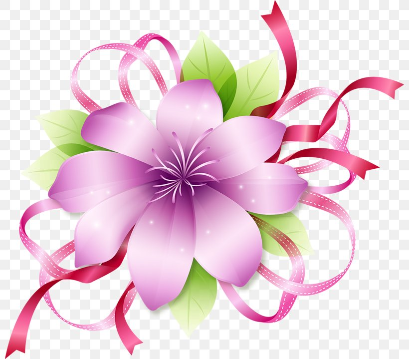 Pink Flowers Clip Art, PNG, 800x719px, Flower, Blog, Blossom, Color, Cut Flowers Download Free