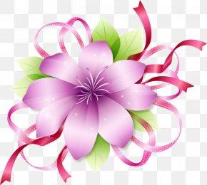 Pink Flower Clipart - Pink Flowers Clip Art PNG