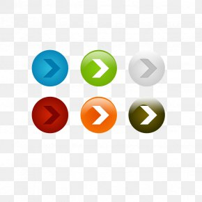Scroll Arrow Button - Web Button Download Icon PNG