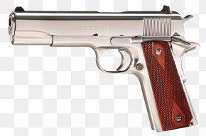 Colt - .38 Super Colt's Manufacturing Company M1911 Pistol Firearm Colt Commander PNG