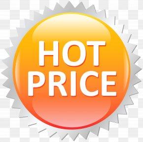 Hot Price Sale Label Clip Art Image - Price Label Icon Clip Art PNG