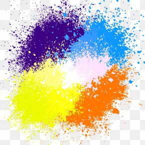 Paint Splash - Watercolor Painting Ink PNG