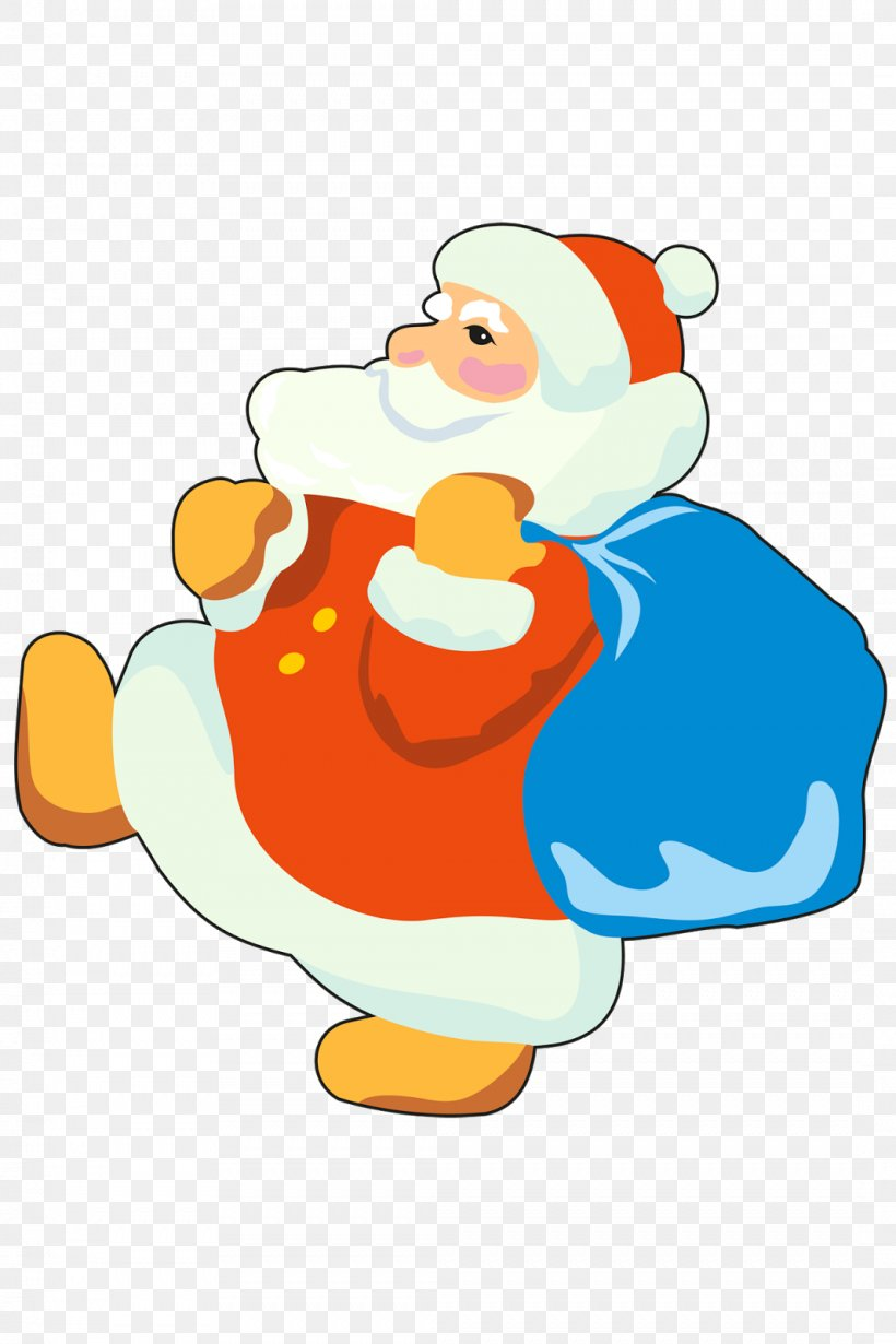 Ded Moroz Snegurochka Santa Claus New Year Clip Art, PNG, 1066x1600px, Ded Moroz, Area, Art, Artwork, Beak Download Free