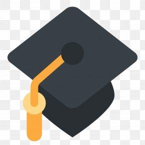 Graduation - Emoji Square Academic Cap Graduation Ceremony Emoticon SMS PNG