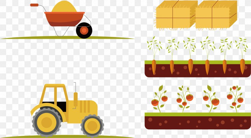 Euclidean Vector Element Drawing Animal Icon, PNG, 2398x1321px, Element, Agriculture, Animal, Brand, Crop Download Free