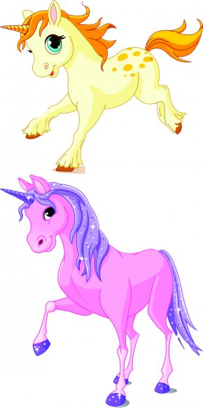Unicorn - Invisible Pink Unicorn Cartoon Clip Art PNG
