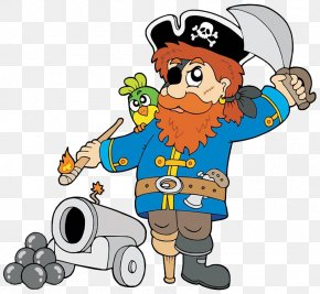 The Pirate Fired - Cannon Piracy Royalty-free Clip Art PNG