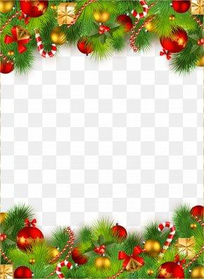 Christmas Decoration - Christmas Decoration Santa Claus Clip Art PNG