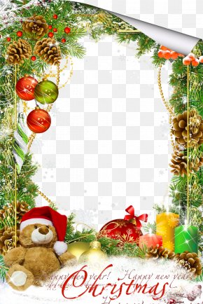 Mood Frame Pictures - Christmas Picture Frame Clip Art PNG