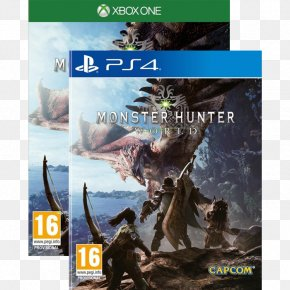 Monster Hunter: World - Monster Hunter: World Monster Hunter 4 Need For Speed Payback Video Game Sony PlayStation 4 Pro PNG